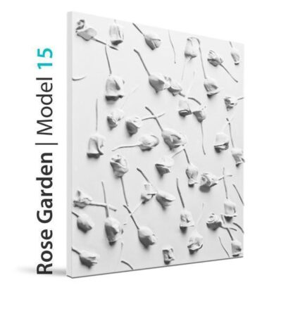 Rose Garden 3D Wall Panels