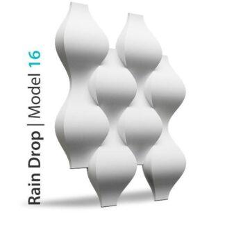 Rain Drop 3D Wall Panels