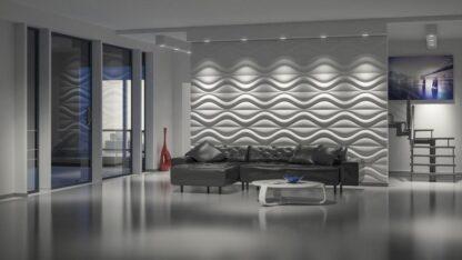 Hourglass 3D Wall Panels