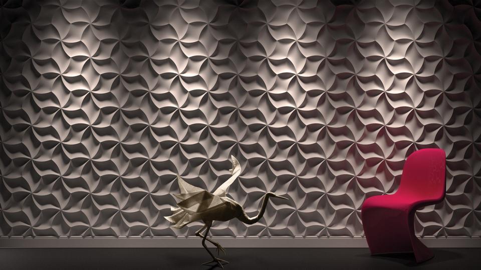 Meringue 3D Wall Panels