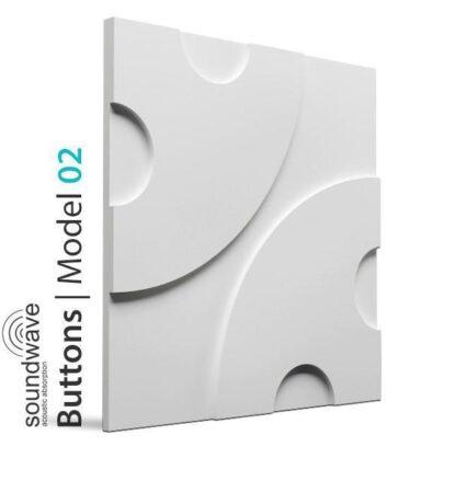 Buttons 3D Wall Panels